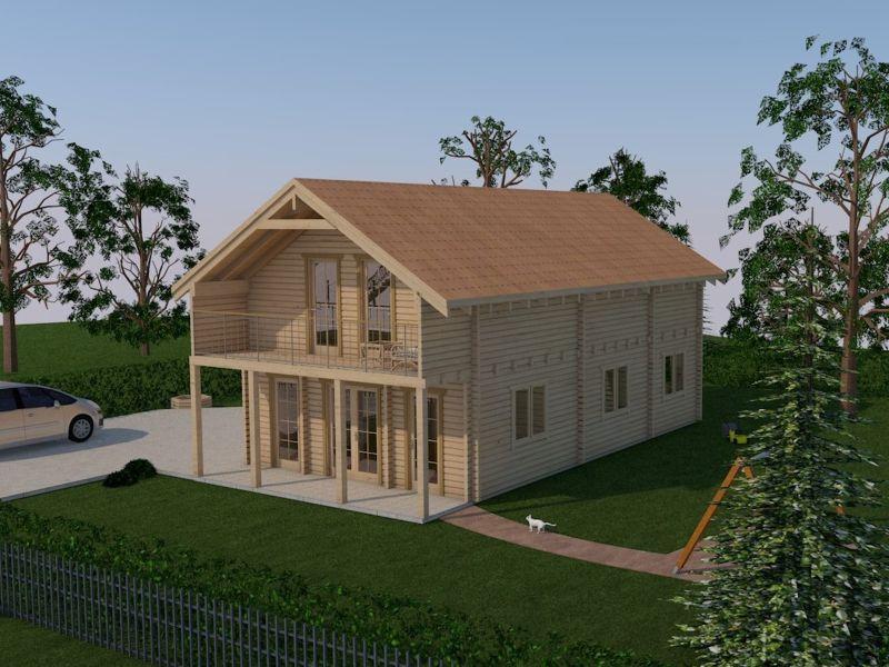 Holzhaus zum Wohnen